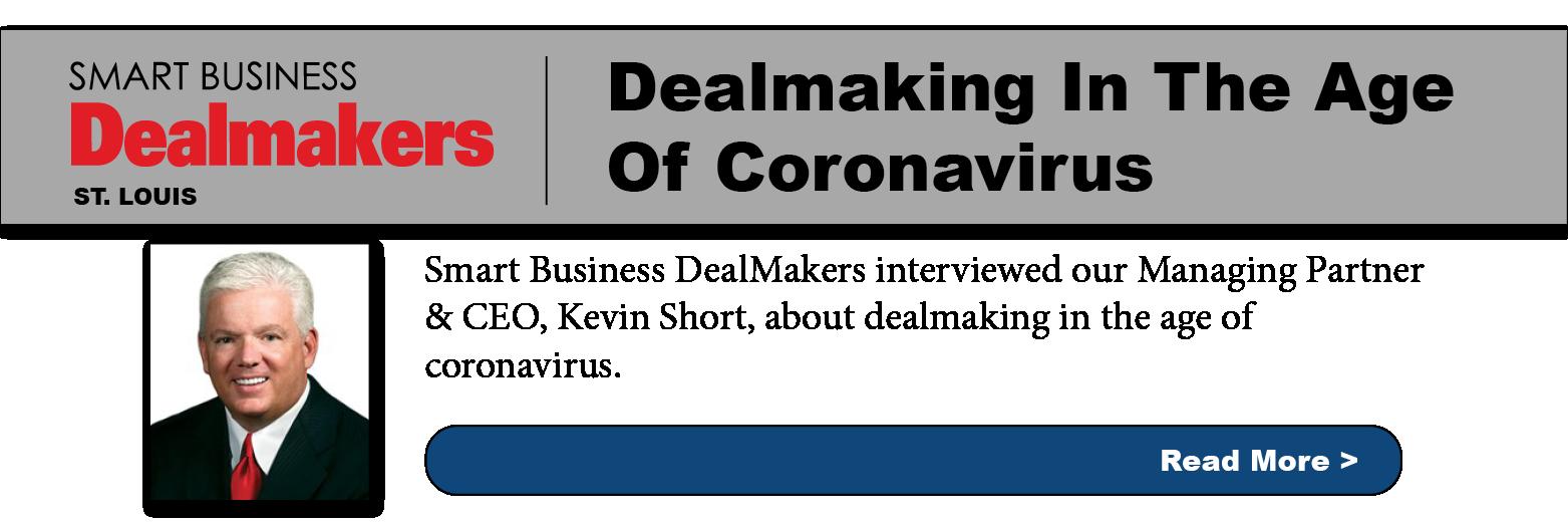 Dealmaking in the age of cornavirus