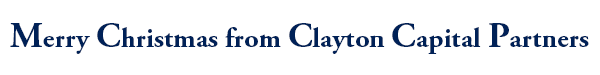Merry Christmas from Clayton Capital Partners