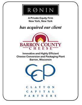 Barron County Cheese Tombstone